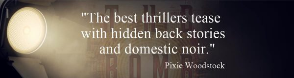 Reading Thrillers Blog post header
