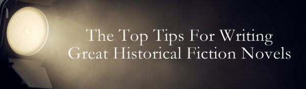 Top Tips For Historical Fiction site banner