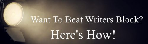 Want To Beat Writers Block Blog post banner